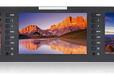 富威德T51三联监视器广播级5寸监视器SDIHDMIAV机柜式监视器