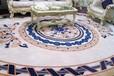 东方地毯圣马丁办公方块地毯拼接地毯pvc底酒店桌球房