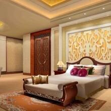 东方地毯无锡高清印花尼龙酒店地毯割绒定制图案阻燃满铺地毯防火
