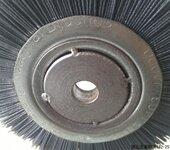 厂家直销磨料丝轮刷杜邦丝抛光打磨压片式磨料丝轮刷
