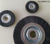 五金工具磨料丝轮刷进口杜邦碳化硅磨料丝专去毛刺抛光研磨