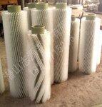 厂家直销植毛尼龙丝工业清洗毛刷辊、磨料丝抛光毛刷辊