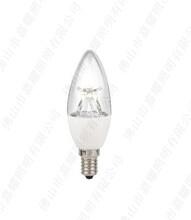 欧司朗水晶吊灯尖泡CLB406W客厅LED调光球泡