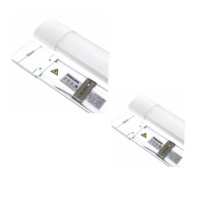飞利浦LED一体化支架BN005C16W明欣宽体支架灯30W