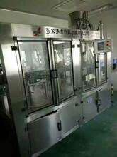 二手矿泉水和大桶水生产线均质机贴标机套标机成套设备