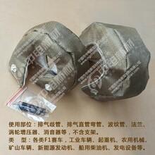 涡轮增压器保护罩T3改装汽车涡轮增压器绝热布可拆卸隔热套图片