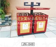 广州匠能不锈钢垃圾桶厂家分类垃圾桶找匠能户外垃圾桶设计、安装一条龙服务图片