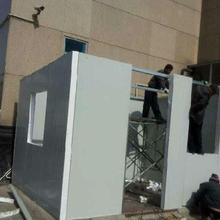 北京丰泰钢架构公司,专业搭建彩钢房,岩棉彩钢房搭建图片