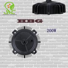HBG电源盒60W/100W/150W/200W压铸电源盒100W工矿灯电源盒圆形UFO电源盒图片