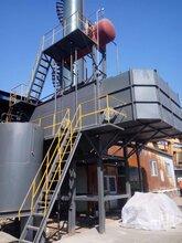 玻璃窑炉烟气余热回收之余热蒸汽锅炉系统说明图片