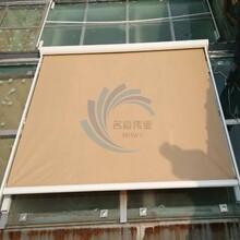 定做户外阳光房天幕蓬玻璃顶户外伸缩遮阳棚电动轨道天幕