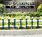 PVC塑钢护栏围栏栅栏草坪护栏庭院花园围栏