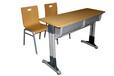 内蒙古优美钢木课桌椅厂家直销