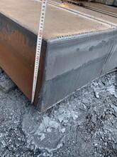 特厚板Q690D高强板异型件切圆数控切割碳板特厚钢板零割下料图片