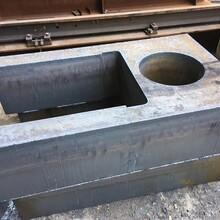42CrMo特厚钢板切割异形件切割法兰按图纸加工保性能图片