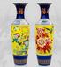 西安客厅大花瓶工艺礼品,西安庆典开业富贵陶瓷大花瓶送货上门