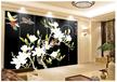 木居时代MUJU1001漆画屏风彩绘家具酒店漆画定制新古典电视柜