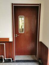 海南鋁合金貼面醫院門安裝業績圖片