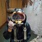 求一个潜水员,水下摄像取证,沉船沉物清障打捞图片
