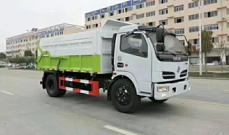 10立方东风压缩式对接垃圾车价格
