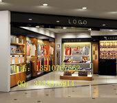 品牌女装展示柜,服装展示柜设计,服装展示柜效果图