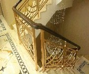 供应雕刻铝艺镂空楼梯护栏、古铜雕刻楼梯护栏图片