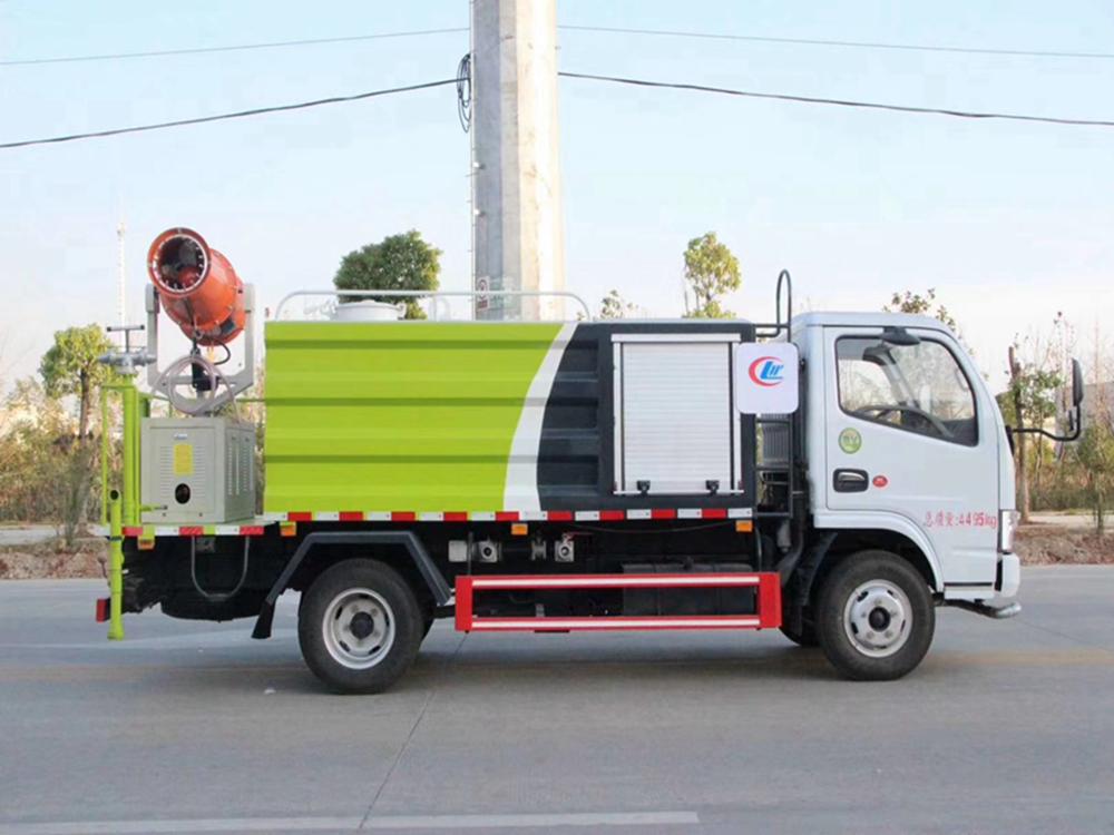 国六东风多利卡15方洒水抑尘车的多少钱