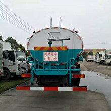 东风御龙后八轮20吨抑尘洒水车洒水车价钱图片