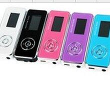 厂家直销插卡mp3铝夹插卡mp3带屏按键外贸爆款外贸礼品MP3图片
