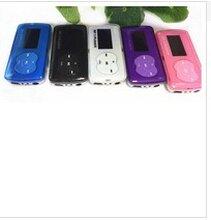 新款糖果有屏MP3插卡MP3带外响横屏播放器图片