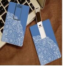 厂家直销8G银行卡片款式高清彩印、丝印logo商务16G公司礼品图片