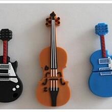 个性化u盘时尚吉他U盘可定制LOGO优盘