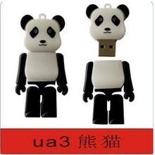 可爱小熊先生PVC软胶卡通U盘图片