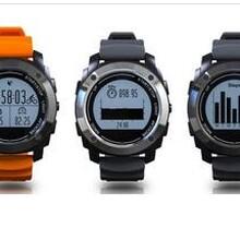 防水多功能GPS户外智能手表海拔气压温度骑行跑步登山心率手环图片