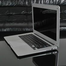 超薄全金属13.3寸铝镁合金苹果风格上网本N2800双核四线程2G32G1:1苹果电脑图片