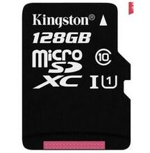 金士顿(Kingston)128GB80MB/sTF(MicroSD)Class10UHS-I高速存储卡图片