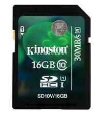 金士顿(Kingston)16GB30MB/sSDClass10存储卡图片