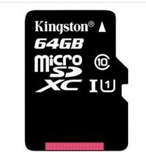 足量金士顿64GB80MB/s高速存储卡TF(MicroSD)Class10UHS-I图片