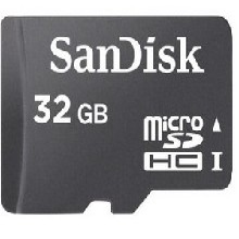 闪迪(SanDisk)移动microSD存储卡TF卡32GBClass4图片