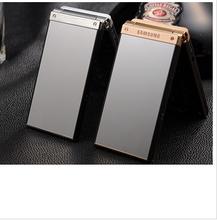 W2014手机超长待机大字大声双屏双卡手写翻盖手机图片