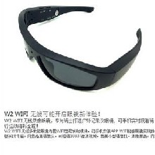wifi智能高清录像眼镜WIFI户外骑行眼镜男女款开车摄像太阳镜800万像素图片