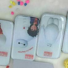 化妆镜子充电宝创意kt猫移动电源可爱卡通超薄机器猫充电宝图片
