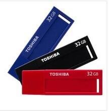 USB3.0标闪黑色TOSHIBA东芝U盘32G32gu盘3.0高速创意个性商务优盘图片