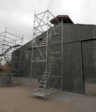 专业桥梁施工安全爬梯高墩安全爬梯建筑施工安全爬梯
