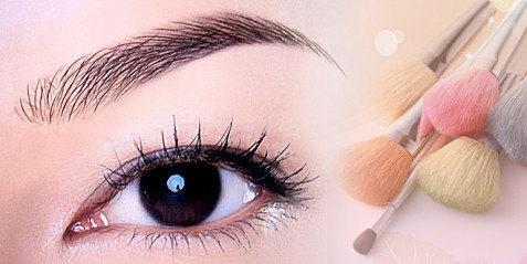 【韩式半永久化妆纹绣培训学院美瞳线的正确操作步骤
