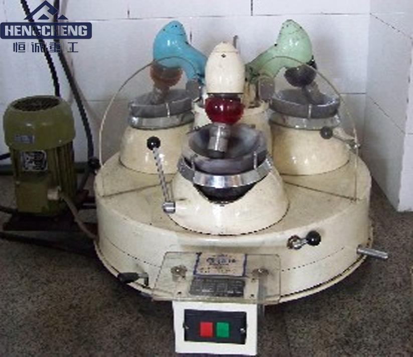 三头研磨机干法玛瑙研磨机实验三头研磨机