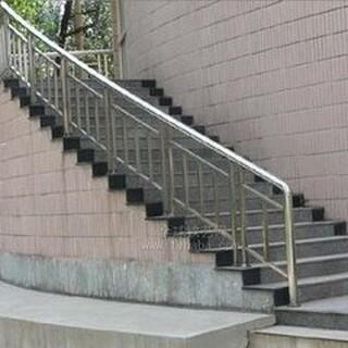 天津静海定做安装不锈钢楼梯扶手、踏步楼梯、整体楼梯、楼梯配件齐全!图片2