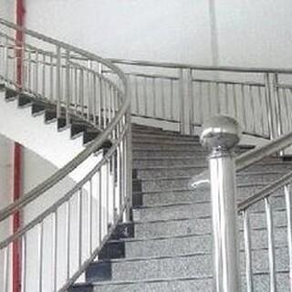 天津静海定做安装不锈钢楼梯扶手、踏步楼梯、整体楼梯、楼梯配件齐全!图片5