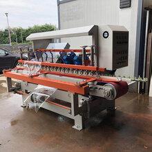 汇科远陶定制碧桂园工程磨边机器45度磨边倒角拉槽一体机