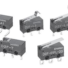 供应OMRON欧姆龙D2F-FL-A超小型基本开关全新原装